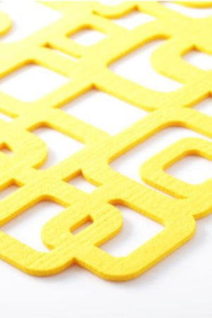 Cube kpl 4 podkladek pod talerz cf7c66