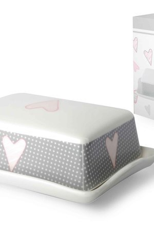 Maselnica ceramiczna z sercem 254e24