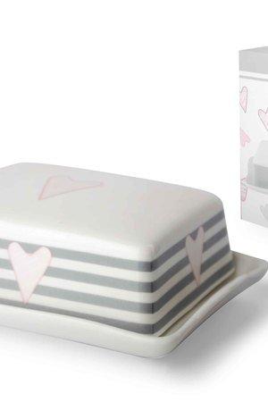 Maselnica ceramiczna w paski ff9767
