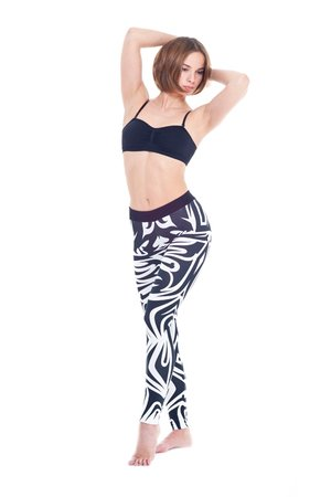 Mut leggins black white a333b5