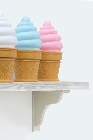 Lampka stolowa ice cream biala 7593e1