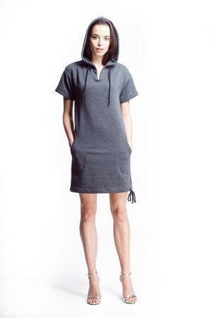 Sukienka sauda grey 5d6c6c
