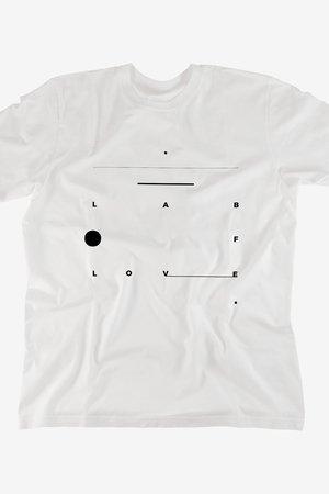 Lab of love tshirt white c13e2e
