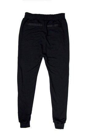 3687d1c62e Soleil - Spodnie z eko skóry podwyższonym stanem SL4008 · MAJORS - MAYORS  BLACK PANTS ...