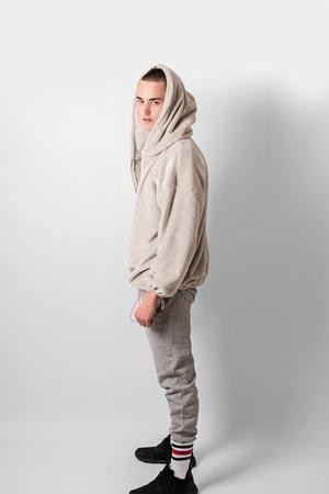 Oversize fluffy hoodie 6af910