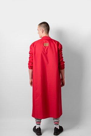 Red bomber coat a7b44e