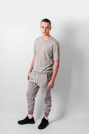 Grey jogger pants 28168d