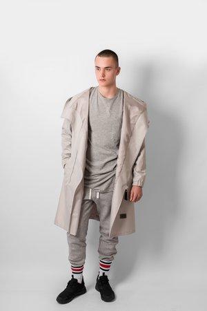Grey basic t shirt 0df980