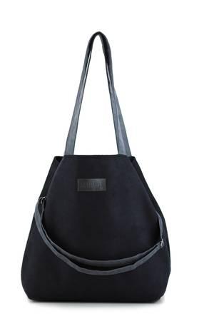 d44e52ad3e4c0 Militu - Duża torba typu shopper Mili Duo MD1 - black ...