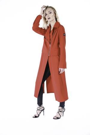 Glam rocker jacket dress red limited