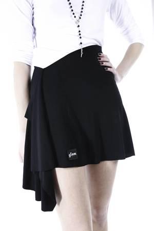 Glam no zipper skirt