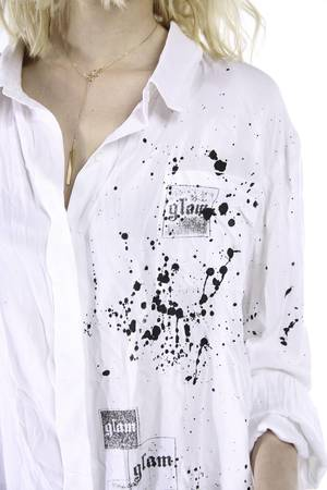 Glam dirty shirt