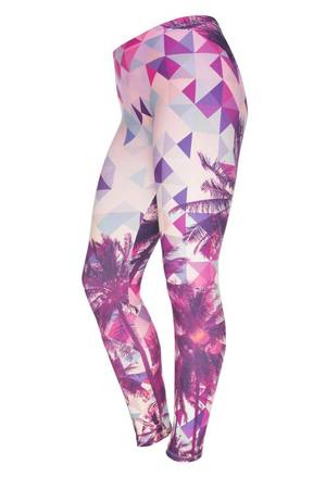 Leggings tropical triangle