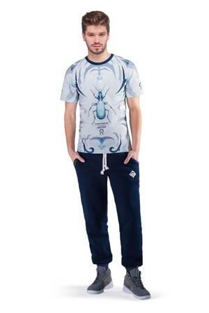 Carabus t shirt blue