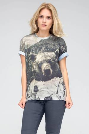 T shirt wolves