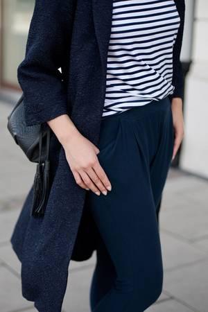 Spodnie echo navy blue
