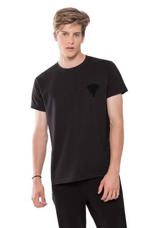 T shirt black logo