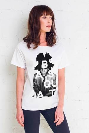 Basquiat artist t shirt oversize
