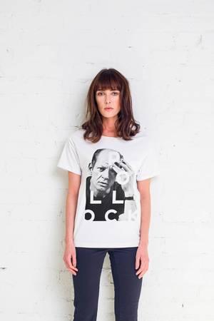 Pollock artist t shirt oversize