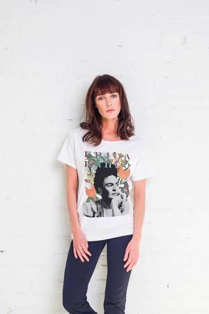 Frida exotic t shirt oversize