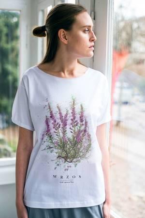 Wrzos t shirt oversize