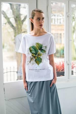 Orzech laskowy t shirt oversize