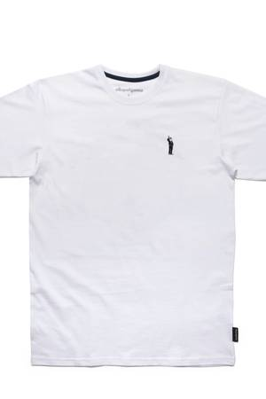 T shirt kapsel bialy