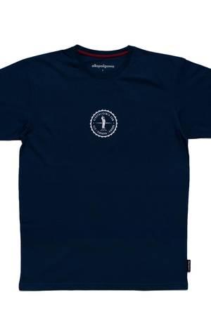 T shirt kapsel granat