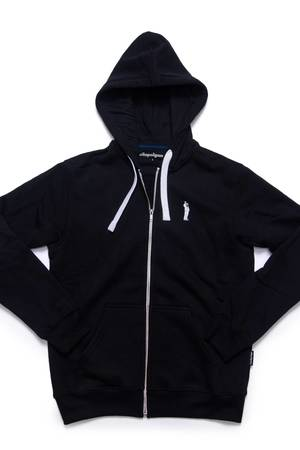 Bluza kapsel zip czarna