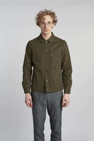 Olive green light jacket