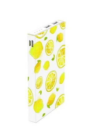 Powerbank pattern lemon