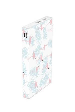 Powerbank pattern flamingo