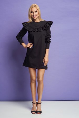 Sukienka frill lady black