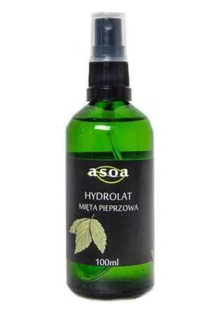 Hydrolat z miety pieprzowej
