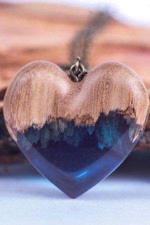 Naszyjnik blue heart