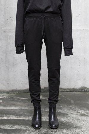 Basic sweatpants in black