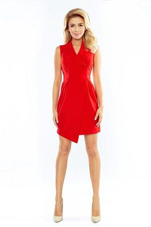 Sukienka alice fartuszek czerwona