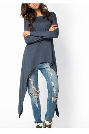 Bluzka bluza bat nietoperz grafitowa