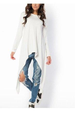 Bluzka bluza bat nietoperz biala