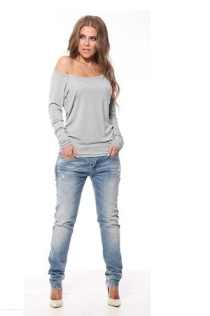 Bluzka bluza cleo szara