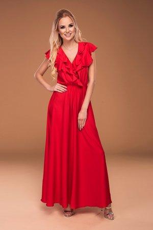 Sukienka red maxi