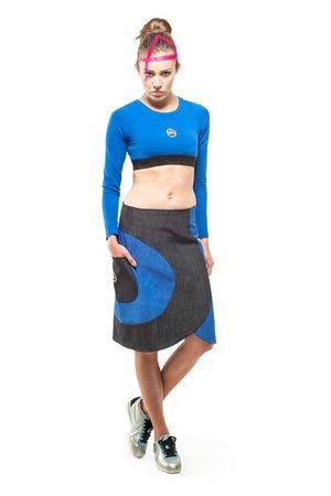 Carina skirt blue