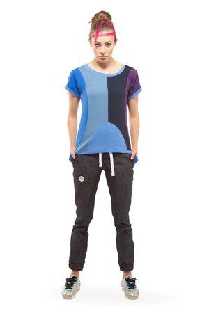 Leda t shirt blue