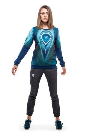 Orbit sweatshirt navy blue