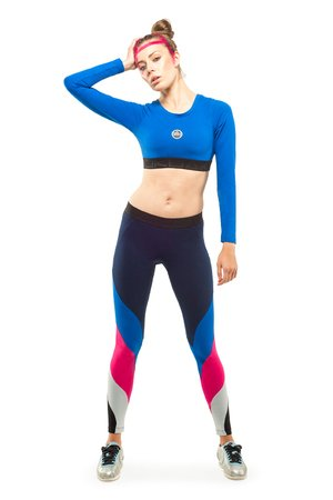 Mensa leggings navy blue