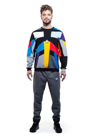 Kalejdoscope sweatshirt colour