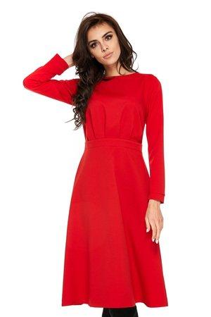 Sukienka festiva red