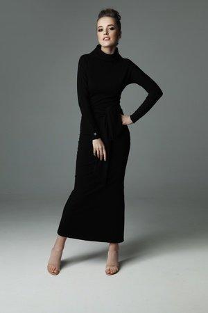 Sukienka statue of madnezz czarna