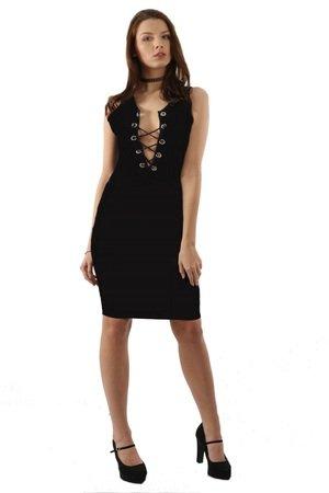 42ff0d2575 Kelly Couronne - Sukienka czarna Peggy ...