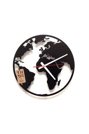 Tik tak piekny i ciekawy zegar globe